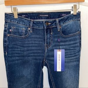 NWT Jagger Classic Fit Skinny Luxe Stretch Jeans